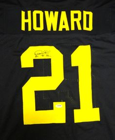AAA Sports Memorabilia LLC - Desmond Howard Michigan Wolverines NCAA Hand Signed Authentic Style Navy Jersey with 91 Heisman Inscription, $262.50 (http://www.aaasportsmemorabilia.com/collegiate/desmond-howard-michigan-wolverines-ncaa-hand-signed-authentic-style-navy-jersey-with-91-heisman-inscription/)