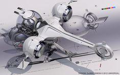 Oblivion Bubble Ship 3D Model