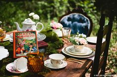 Magical Alice In Wonderland Styled Shoot