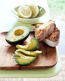 Avocado with Lemon and Olive Oil - Martha Stewart Recipes