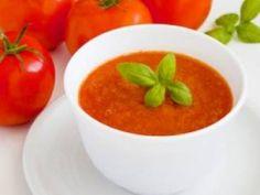 Receita de Sopa de Tomate - Tudo Gostoso