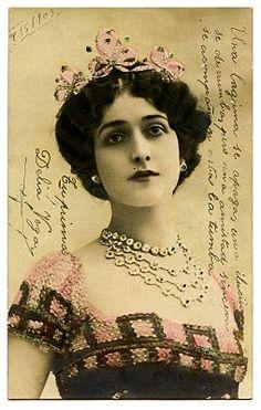 Italian Opera Star, Lina Cavalieri