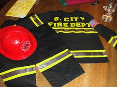 Sweet Elder: Halloween Costume: Firefighter