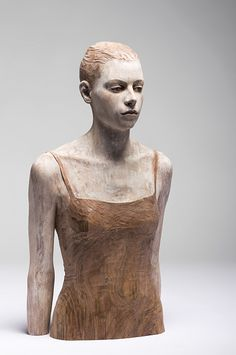 Bruno Walpoth - Carved wood sculpture,