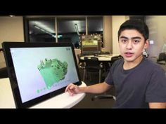 Lesson 3: Learn about Kodu instructions and program a Kodu to eat apples - YouTube