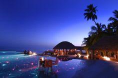 Huvafen Fushi Resor, Maldives