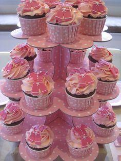 Pink Pajama Party Cupcakes