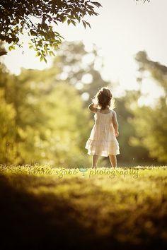 Sweet little girl shot.