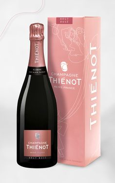 Thiénot, Champagne Rosé, Id packaging, 2011©markcom