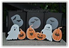 Fall Fest creates ALL kinds of seasonal projects like this FUN votive luminary project by http://www.handstampedstyle.com