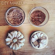 DIY all natural foun