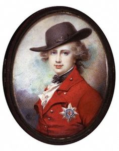 Prince of Wales (King George IV)  Richard Cosway  circa 1780-1782  National Portrait Gallery, London, UK
