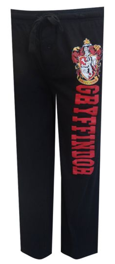 Harry Potter Gryffindor House Lounge Pants Whether you enjoy the Harry Potter books or are a fan of the movies, these lounge pa...