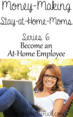 Advice from two SAHM's who have worked for a business as an At-Home W9 Employee for years. Love the tips on finding a job or arranging a job like this!