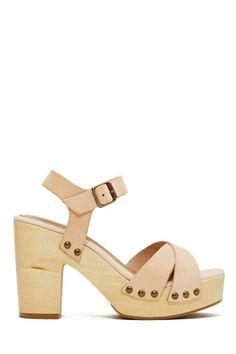 Shoe Cult Hutton Sandal - Nude