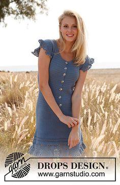 Campanula - roundup of 10 free crochet dress patterns for women!