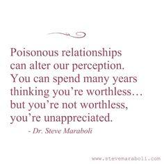 Unappreciated. Narcissistic Abuse Recovery.