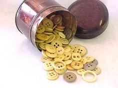 Civil War Era Antique Bone Buttons