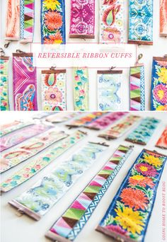 ribbons, craft idea, diy revers, diy idea, ribbon cuff, inspir diy, cuff bracelets, ribbon bracelets, revers ribbon