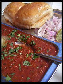 my favourite food pav bhaji essay