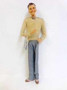Bernard Ravca original Paris Frank Sinatra doll 16 in.