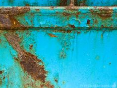 turquoise and rust!!!!