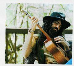 beard, guitar