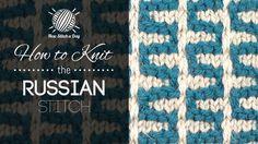 russian stitch