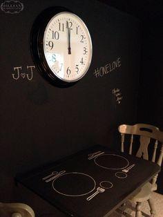 Jillian Harris Chalkboard Nook