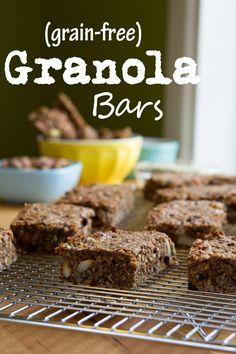 Grain-free Chai Granola Bars