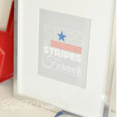 Stars & Stripes Forever Printable from Sugar Tot Designs