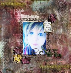 Girly Grunge Scrapbo