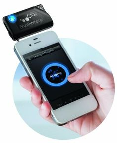 Never drink and drive. This breathometer will help you regulate your alcohol intake.