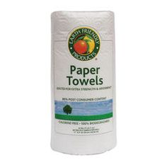 Earth Friendly Products Paper Towels 100% Recycled (6.9/10)