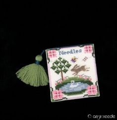 Designer - Just Nan   Design Name - Bellemeade Needlebook