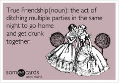 Funny Friendship Ecard