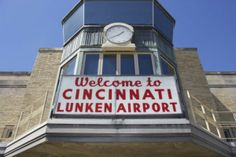 Visit Cincinnati's own Lunken Airport for one day of your Cincinnati Staycation.  There's lots of free stuff to do here including watching planes take off and land, bike trail, playgrounds, picnic tables, and much more.