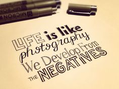 develop from the negatives