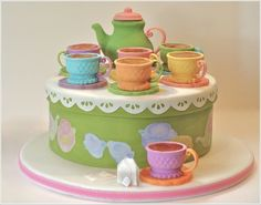 Try These Amazing Edible Teacup Cookies for a Tea Party