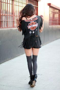 biker chick love the shirt!