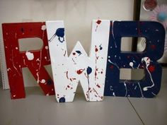 4th of July Craft- Red, White and Blue