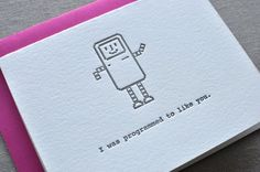 14 Awesome Valentine's Day Cards For Geeks - 2014 #hotspot #valentine