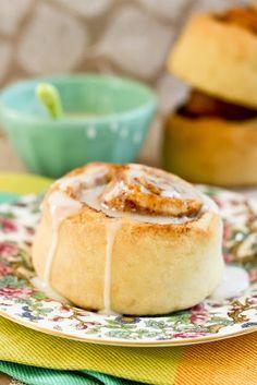 No yeast quick cinnamon rolls