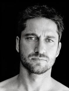 Gerard Butler... I just love a man with facial hair