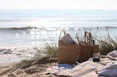 . beaches, summer picnic, summertim picnic, beach summer, at the beach, picnics, beach picnic, seaside picnic, beach compani