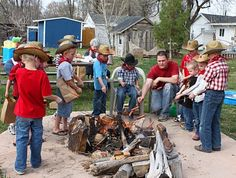 cowboy party- great game ideas