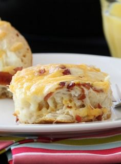 """Easy"" Cheesy Bacon Biscuit Pull-Aparts - Picky Palate"
