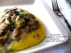 """Home Cooking In Montana: Romanian Cream of Mushroom with Chicken ...or """"Ciulama de Ciuperci cu Carne de Pui"""""""