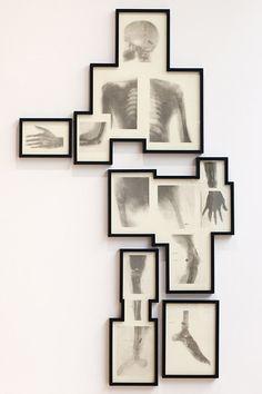 Home decor bullet man, man 2011, jackson, wall decorations, art, matthew, 118 cm, photo collages, bullets