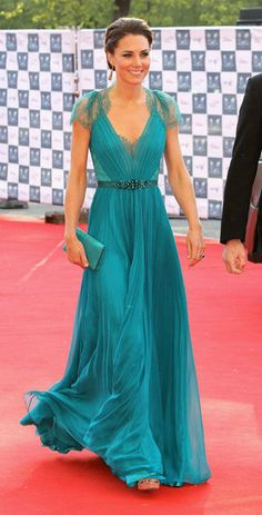 duchess of cambridge, the duchess, color, the dress, kate middleton, gown, jenny packham, princess kate, royal albert